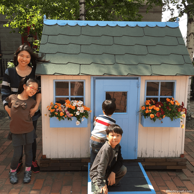 Toy houses at Shiroi Koibito Park