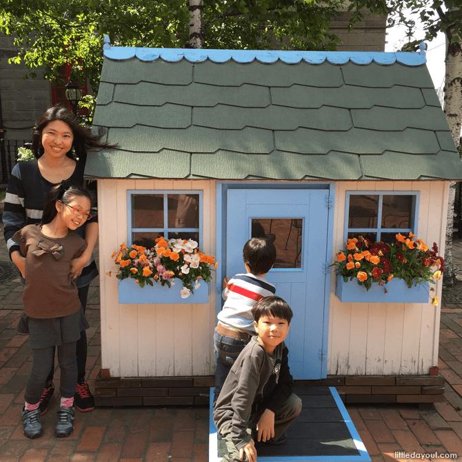 Toy houses at Shiroi Koibito Park