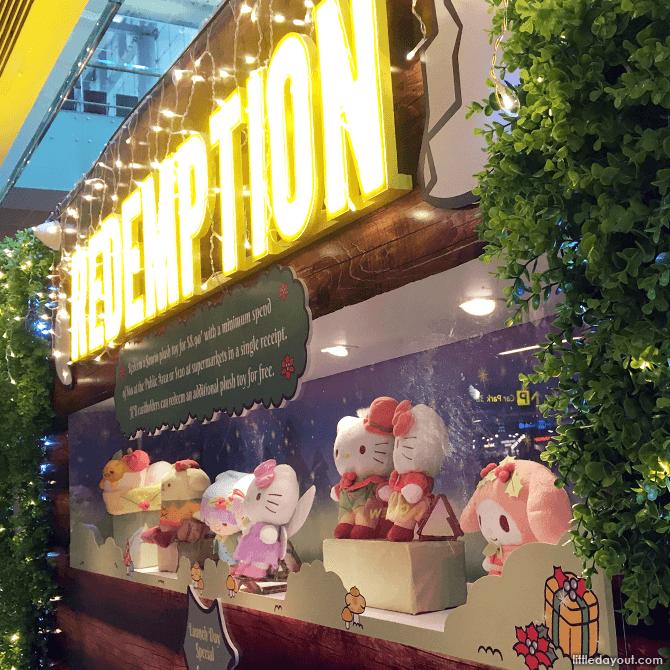 Hello Kitty Toys at Changi Airport