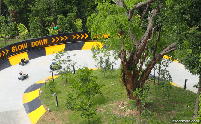 Sentosa Luge New Tracks