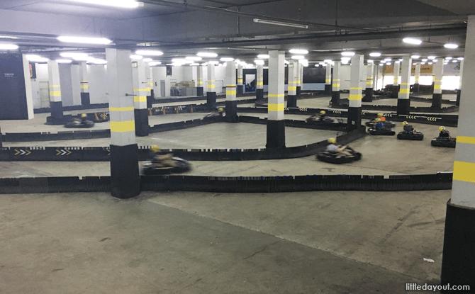 Track at Easykart, Bankgkok