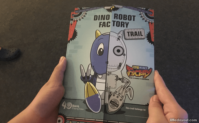 Dino Robot Factory Booklet