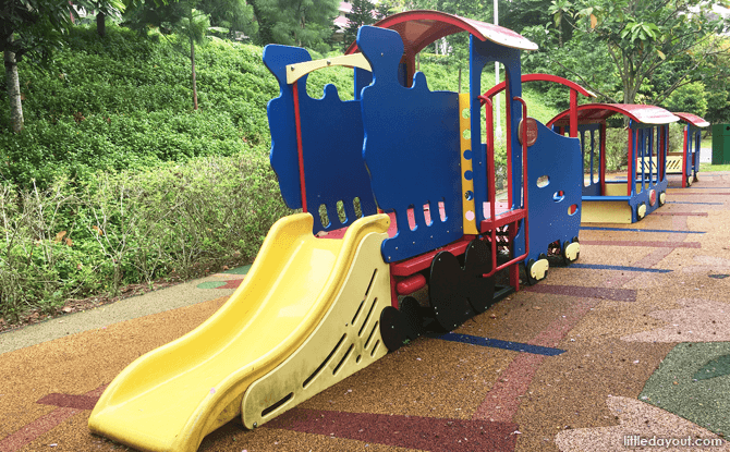 Train Playground at Rumah Tinggi Eco Park
