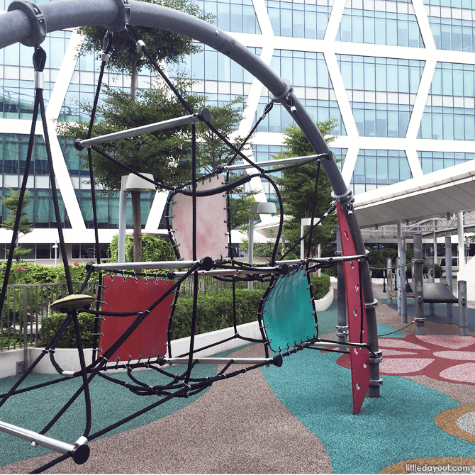 Dry Play Area at Changi City Point Playground