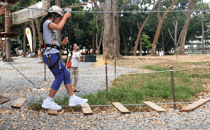Practice crossing
