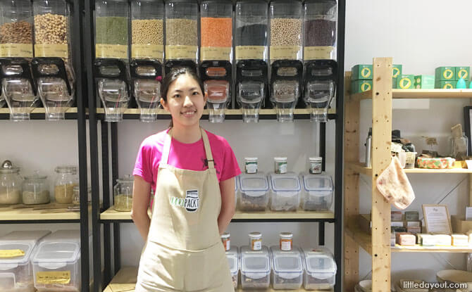 Florence Tay, Co-owner of UnPackt Singapore