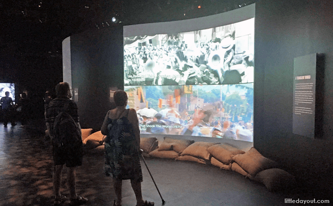 Multimedia Presentations at Witness to War