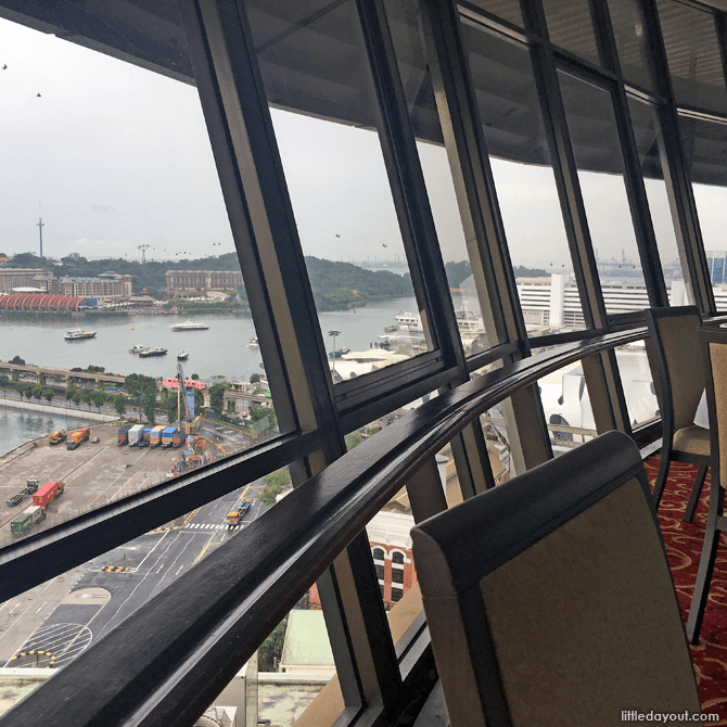 View of Sentosa from Prima Tower