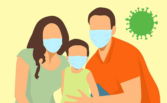 Mandatory To Wear A Mask When Out Of The Home. Better Yet, Don't Go Out.