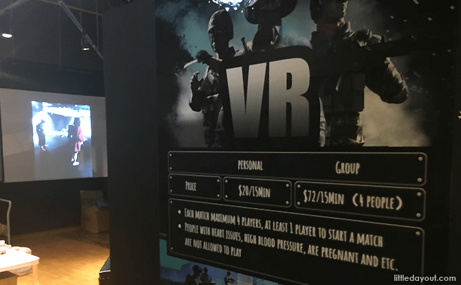 VR Game at Pirate Land, The Centrepoint