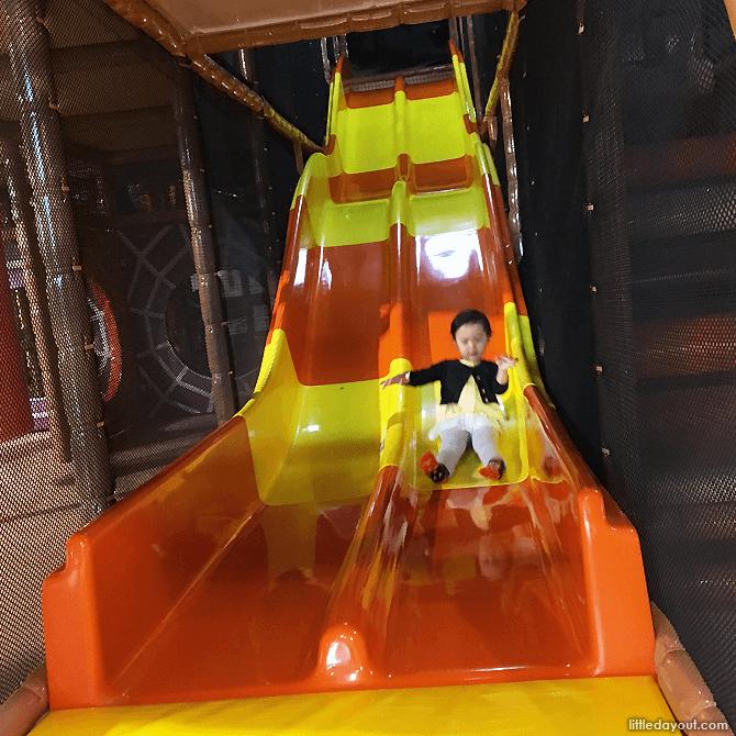 Slide at Waka Waka