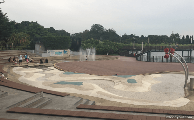 Water Play Area at Lower Seletar Reservoir Park
