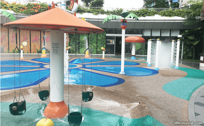 Water Play Area at Changi City Point