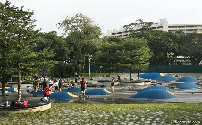 Bishan-Ang Mo Kio Park Water Playground