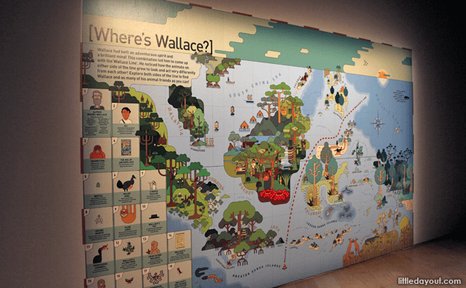 The Where's Wallace Wall