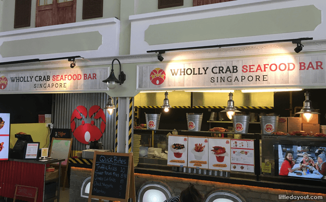 Wholly Crab Seafood