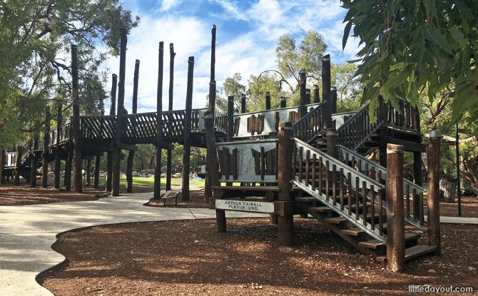Arthur Fairfall Playground at Synergy Parkland, Perth