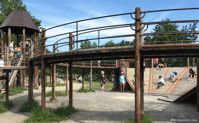Playground at Sapporo Satoland