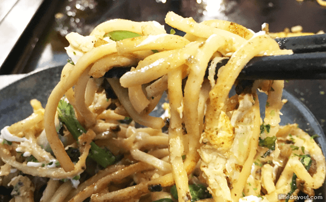 Make your own yakisoba