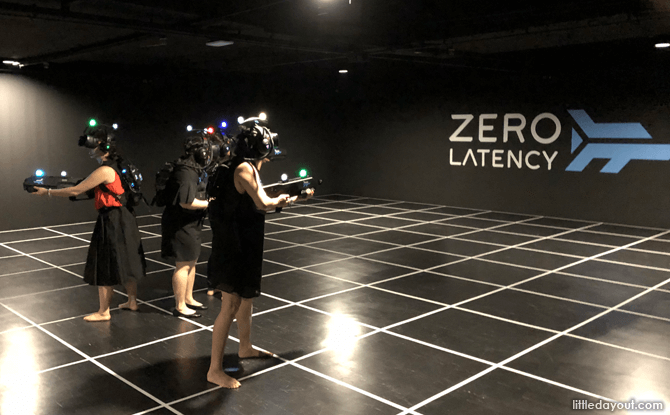 Zero Latency, Suntec City, Singapore