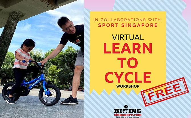Free Virtual Learn-To-Cycle Workshops: Get Tips For Your Next Family Cycle From Biking Singapore