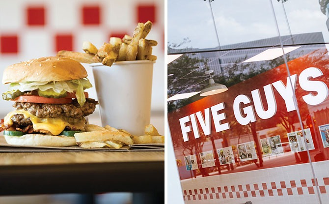 FIVE GUYS Will Be Opening Second Outlet At NEX, Serangoon