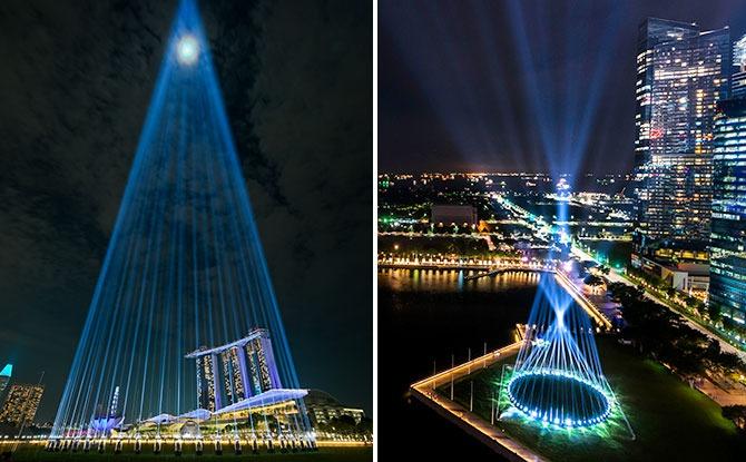Shine A Light Display To Illuminate Marina Bay's Skyline Throughout December 2020