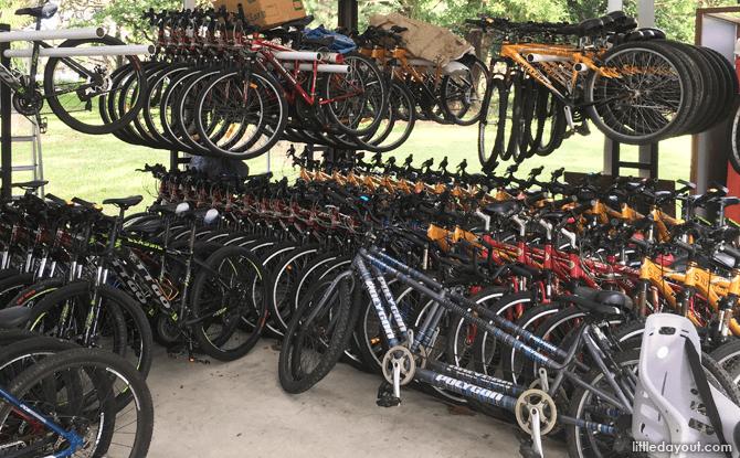 East Coast Park Bicycle Rental