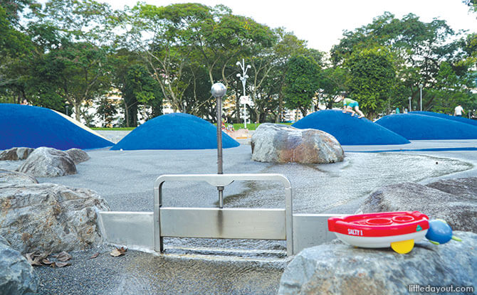 Float Your Boat at Bishan-Ang Mo Kio Park's Water Playground