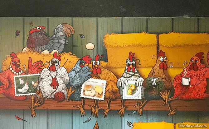 Chicken & Eggs exhibition
