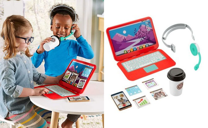 Fisher-Price Work From Home Play Set: Kids Get To Be Boss At Home