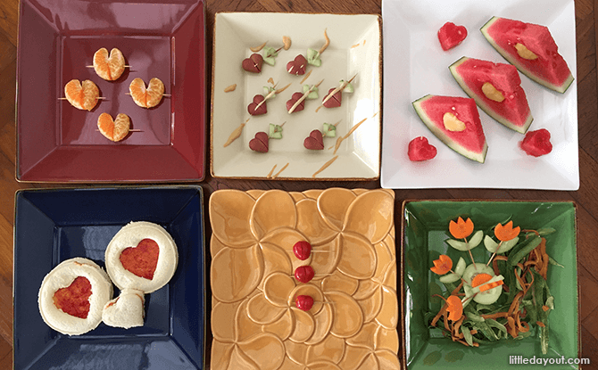 Heart-shaped Foods for Valentine's Day