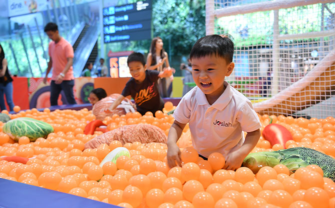 Mala Playground - Changi Airport September school holidays 2019