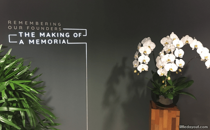 Remembering Our Founders Exhibition at Gardens by the Bay