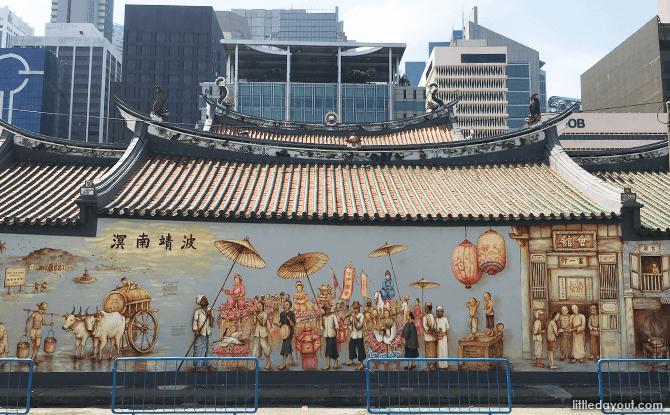 Procession, Thian Hock Keng Mural