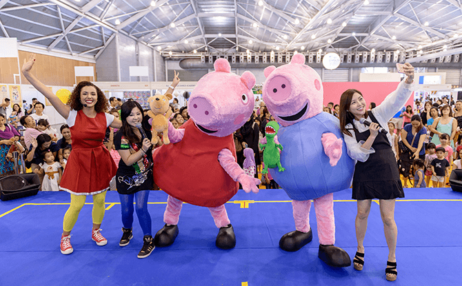 SmartKids Asia 2016 - Peppa Pig Meet & Greet Session