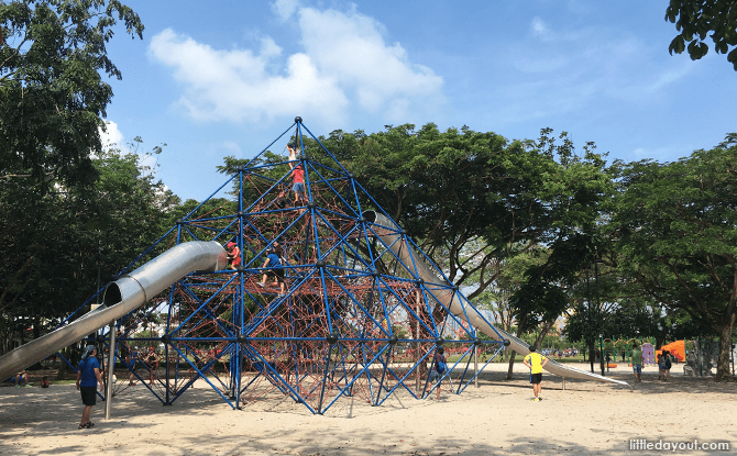 West Coast Park Playground's Pyramid