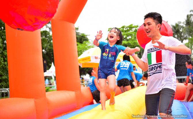 Sentosa Mega Fun, June School Holidays 2017