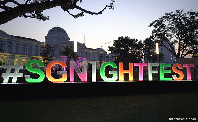 Singapore Night Festival 2019: Glowing Night Lights And Pulsating Performances