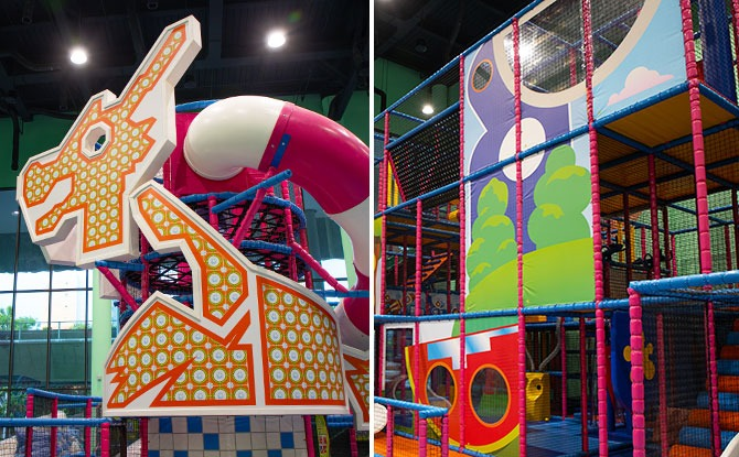 T-Play At HomeTeamNS Khatib: Indoor Playground With Local Peranakan Flair