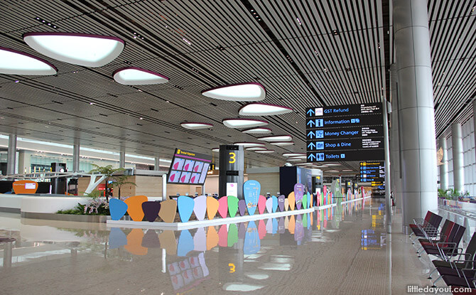 T4 Interior - Departure Hall