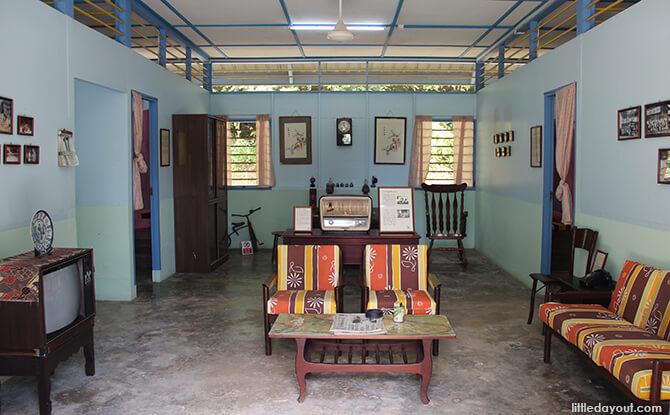 Pulau Ubin Chinese Kampong House: Teck Seng's Place