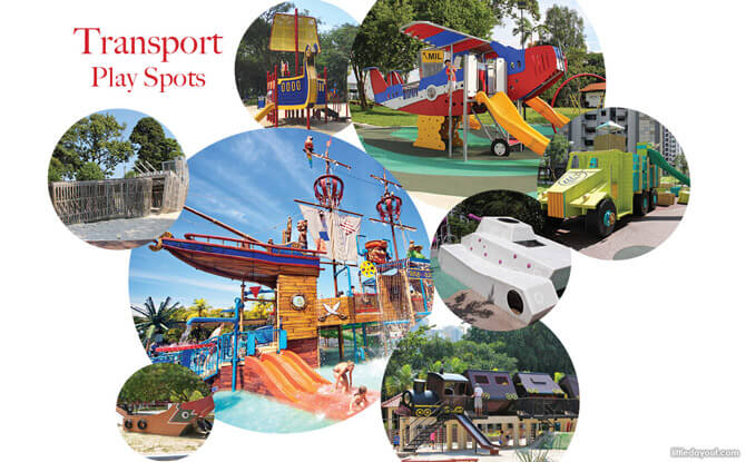 Transport Themed Playgrounds