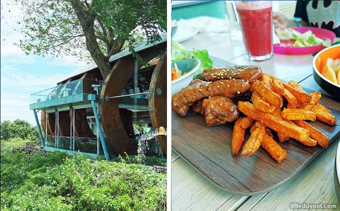 Arbora Hilltop Dining: Have A Meal With Scenic View At The Top Of Mount Faber