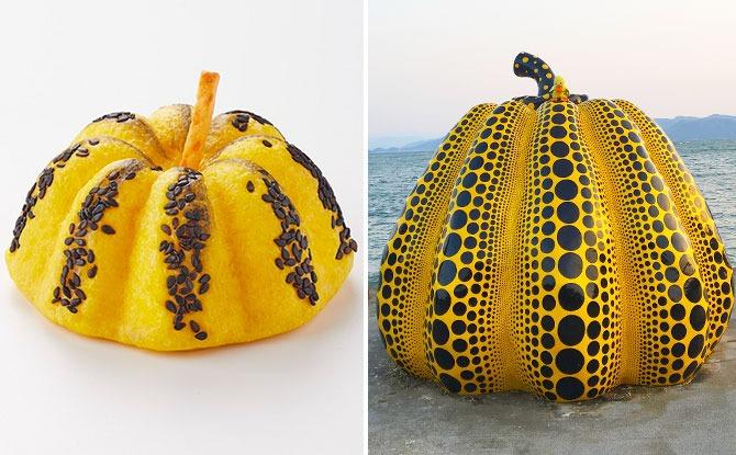 Breadtalk Has A Yayoi Kusama-Inspired Pumpkin Bun