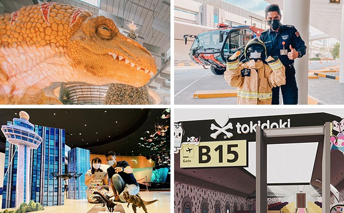 Changi Festive Village With Dinosaur And Tokidoki-Themed Activities For The School Holidays, From 20 Nov to 3 Jan