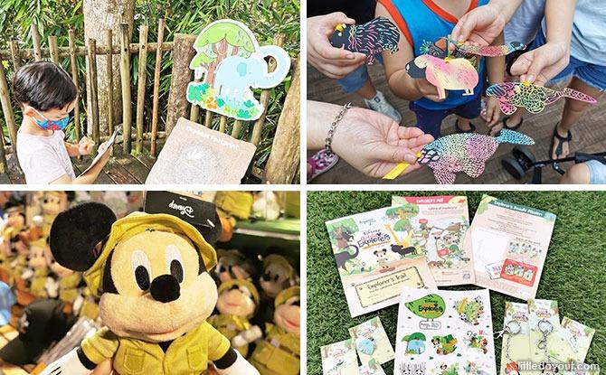 6 Fun Animal-Themed Activities At Disney Outdoor Explorers At Singapore Zoo & River Safari