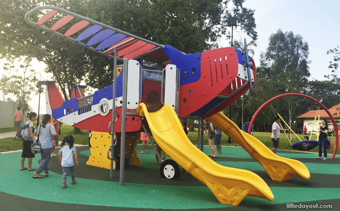 Aeroplane Playground at The Oval @ Seletar Aerospace Park