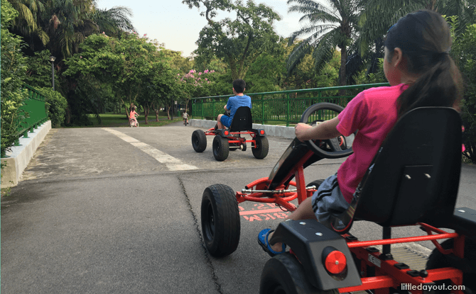 Pedal Go-kart - Things to do with kids in Singapore