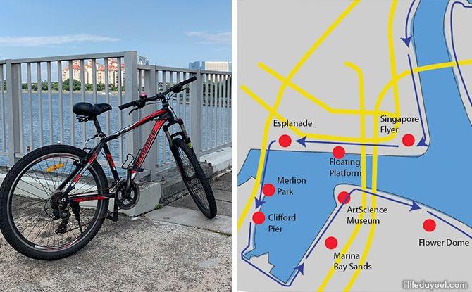 Cycling Around Marina Bay & Kallang Basin: Route, Map & Landmarks